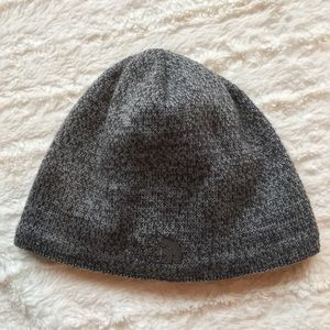North Face Fleece Lined Beanie Hat